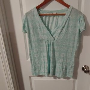 Worn With Love Banana Republic Teal Size L